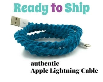 RTS iPhone Lightning Charger Cable, iPhone EarPods, iPhone EarPods plus Lightning Cable Gift Set You Choose - LYRIC by Missy and Joy