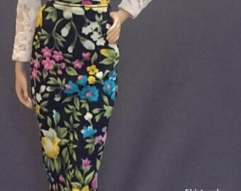 Skirt for Barbie,Muse barbie,LIV dolls, FR, Silkstone - No.0557