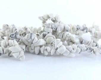 Howlite Chip Bracelets (Bulk Sale 5 Pcs)