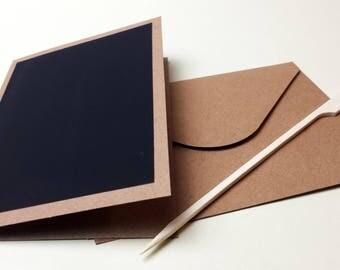 DIY magic paper greeting card