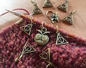 Magical knitting II - set of 10 stitch markers