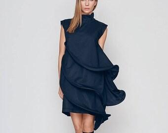 Dresses On Sale Loose Fit Dress, Black Formal Dress, Layered Dress, Little Black Dress, Short Sleeve Dress, Cocktail Dress, Evenning Dress,