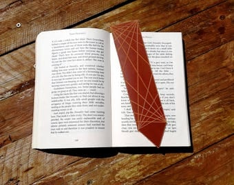 Father's Day Gift - Leather Bookmark