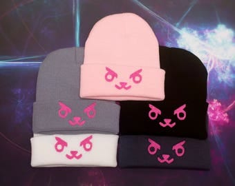 Overwatch inspired | D.Va Beanie!