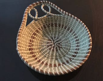 Charleston Sweetgrass Basket- can be used to hold bread, fruits, or snacks