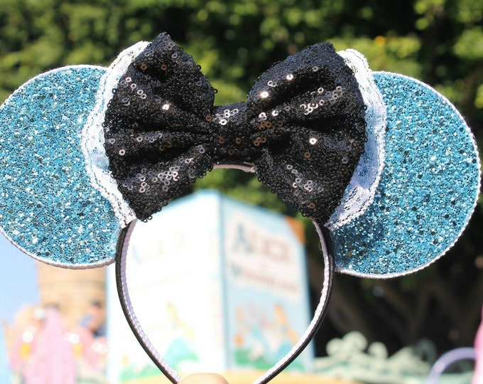 Alice in Wonderland Mouse Ears Headband | Mouse Ears | Alice | Headband Minnie Ears | Mouse Ears | Wonderland