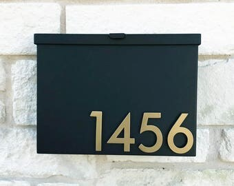 You've Got Mail Mailbox w/ Silver or Brass Address Numbers (Free Shipping)