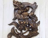 Letter S Wall Decor, Wood...