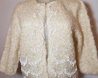 FREE  SHIPPING  1950 Mohair  Sweater