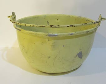 Yellow Tin Pail