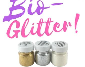 Fine Bio Glitter!   Fine BioDegrdable Glitter   3 Colors   Burning Man, Festival Sparkles, Glitter, Coachella, EDM, Rave, Doof