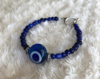 Evil Eye Royal Blue Bracelet