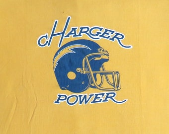 80's Vintage T Shirt San Diego Chargers NFL Football Sports