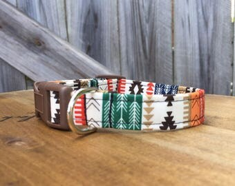 Southwest Tribal Dog Collar-NON-MONOGRAMMED