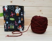 Science Girls Ball Sack for up to DK Weight -- Yarn Holder for Inside Project Bags Handmade