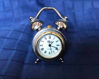 Miniature clock Circa