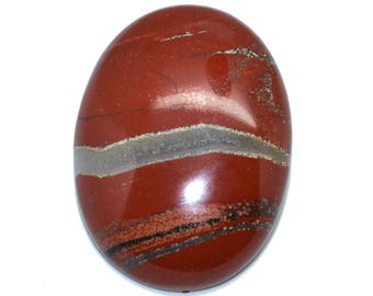 Cabochon gemstone 30 x 40 red Jasper