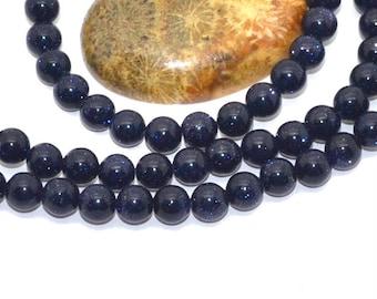 bluestone 6mm 10 beads