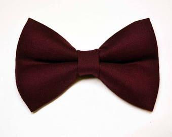 Burgundy bow tie,wine bow tie, baby bow tie, boys bow tie,baby bow tie,adult bow tie,groomsmen bow tie, men's bow tie, David's bridal Wine