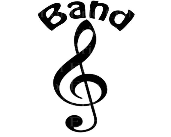 Band Music Notes Birthday - Edible Cake and Cupcake Topper For Birthday's and Parties! - D22704