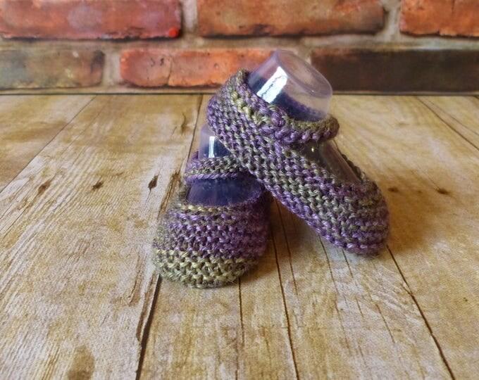Earthy Crochet Baby Booties