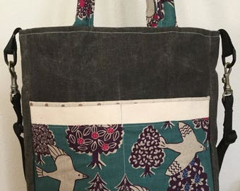 Pretty Little Garden Shoulder and Handle Bag