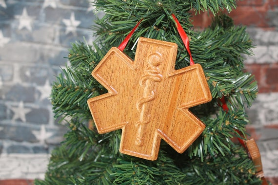 Paramedic, EMT, Fire Fighter, medical sign, Paramedics, Emergency Medical, Paramedics wife, Christmas Ornament, emt gifts, EMT Ornaments,