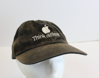 Apple Think Differently employee hat distressed