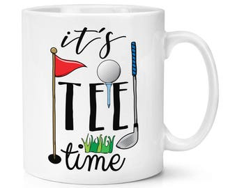 It's Tee Time Golf 10oz Mug Cup