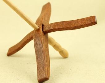 Leopardwood Glider Turkish Drop Spindle