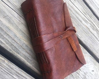 Handmade Leather Covered Journal
