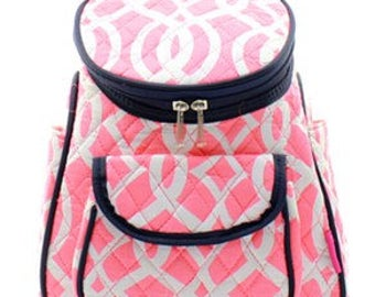 Quilted Vine Backpack with free monogram