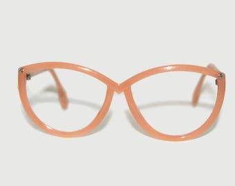 Eyeglass Frames Made In Austria : Vintage Deadstock 60s Peerage Tina Eyeglass Frames