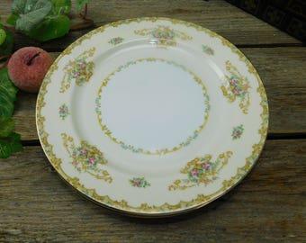 Set of 4 Vintage Noritake Acacia Dinner Plates