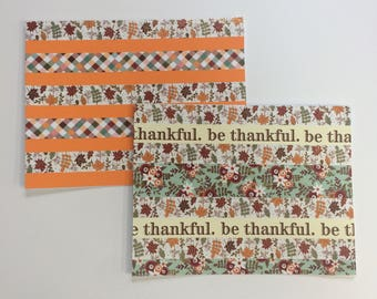 Be Thankful Greeting Note Card Collection [blank]
