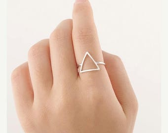35% Discount Geometric ring