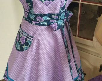 Purple Princess Apron! Feminine and Beautiful!