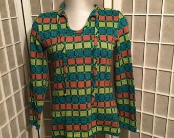 1960s Light Knit Blouse