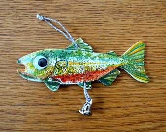 A Reel Fishermans Ornament