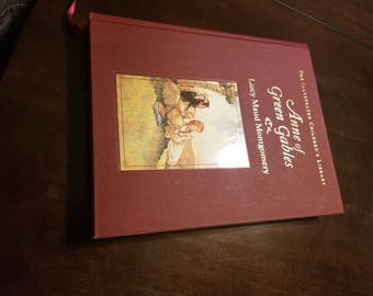 Illustrated Children's Library Anne Of Greene Gables by Montgomery