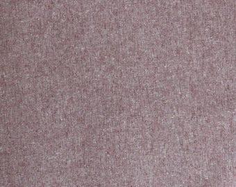 Fabric - Robert Kaufman - Essex Yarn dyed linen/cotton - Rust - medium weight woven.