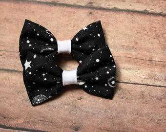 Out of This World Space bows, set of 2 Mini Bows