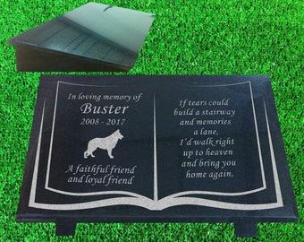 Granite Pet Memorial Marker