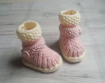 slippers baby nap knitting(sweater) girl hand-made