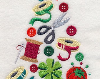 SEWING CHRISTMAS TREE  by Topstitch Designs by Linda