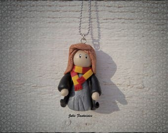"Necklace ""Hermione"" (Harry Potter) polymer clay"