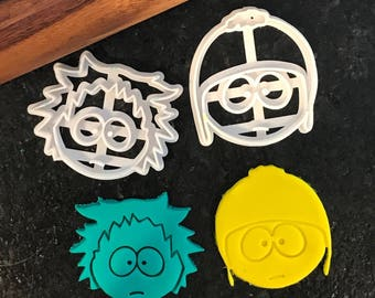 Tweek and Craig South Park Cookie Cutter Set
