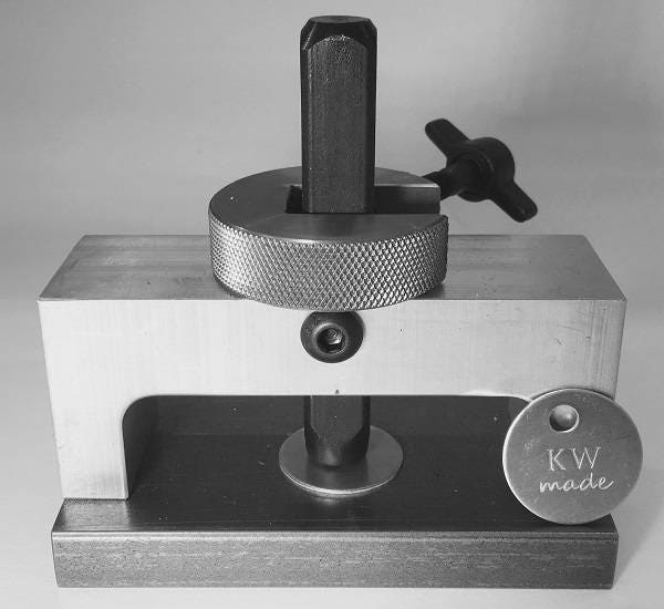 Jewelry stamping jig for Metal stamping press for jewelry
