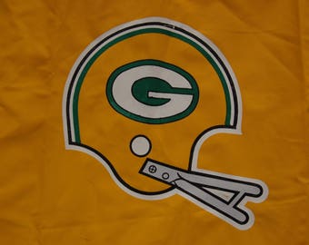 Vintage Greenbay Packers Rain Parka circa the 80's