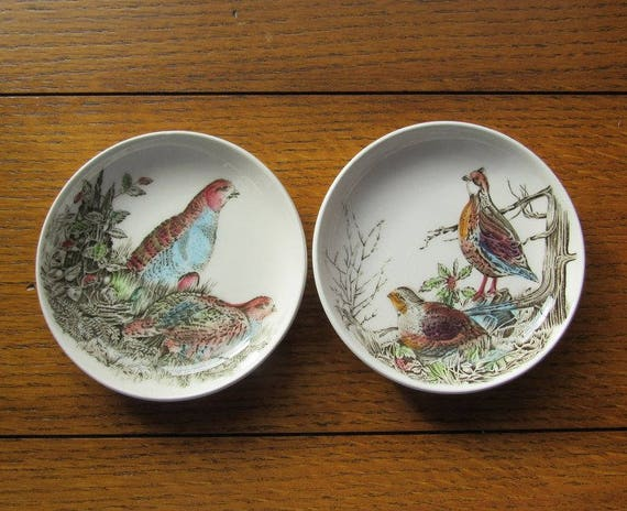 Game Bird Coasters Set of Two